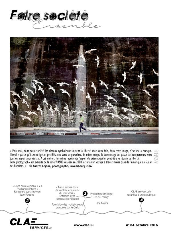 Faire société n°4 - octobre 2016
