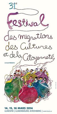 31e Festival des migrations, des cultures et de la citoyenneté 2014