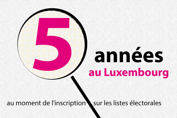5 années au Luxembourg