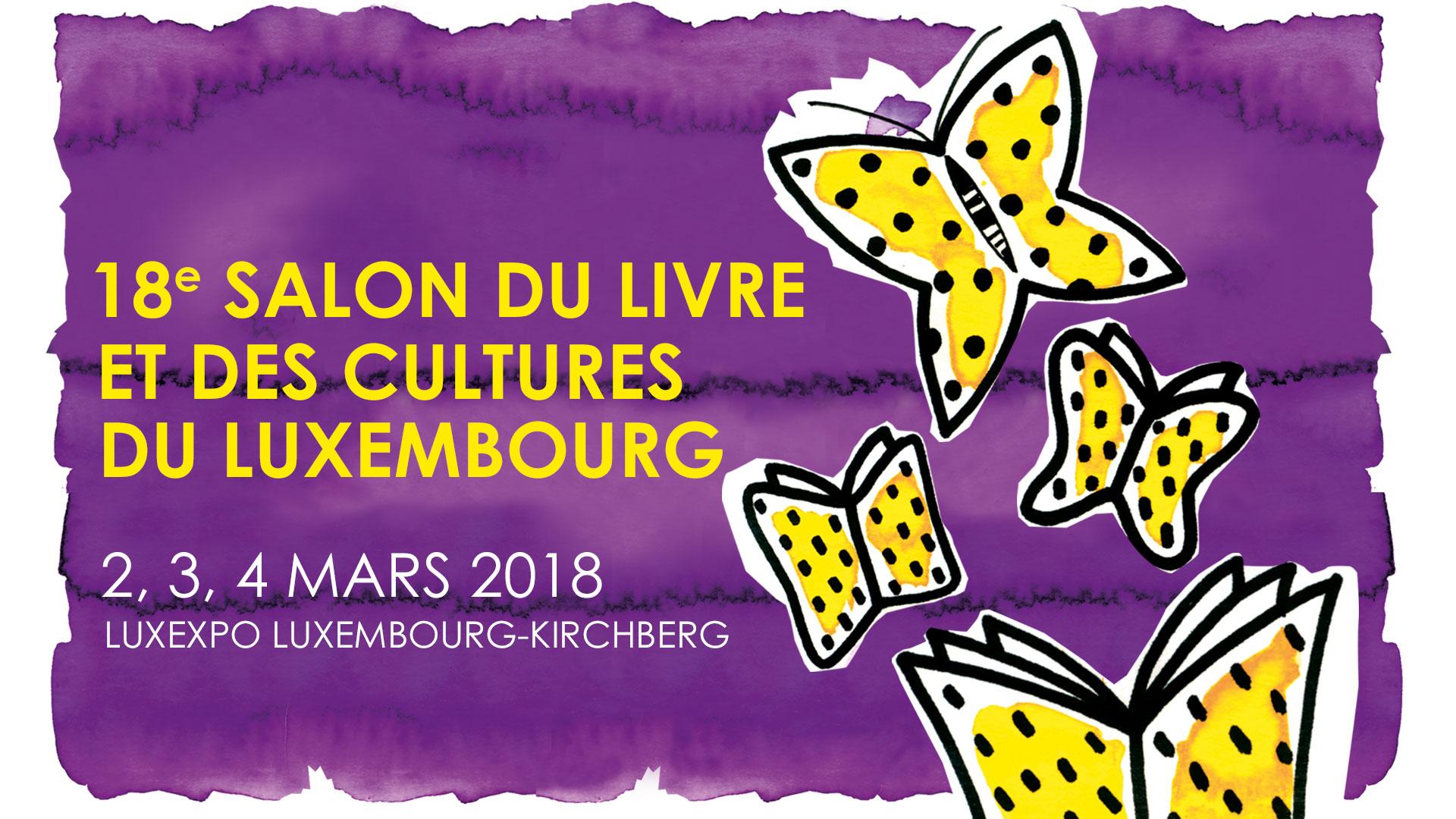 Salon du livre et des cultures du luxembourg clae for Salon du livre exposants