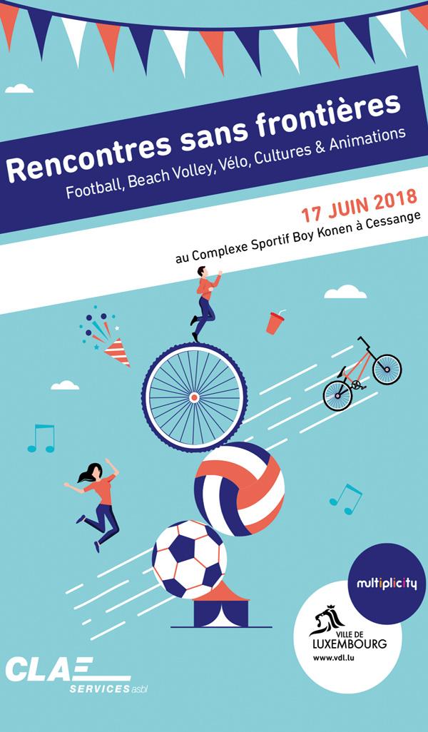 RENCONTRE SANS FRONTIERE 17 JUIN 2018 LUXEMBOURG