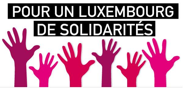 Pour un luxembourg de solidarités